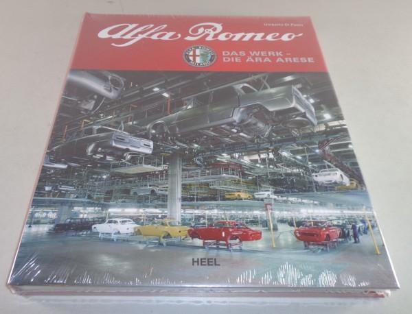 Bildband Alfa Romeo Das Werk - Die Ära Arese Heel Verlag