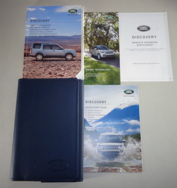 Owner's Manual + Wallet Land Rover