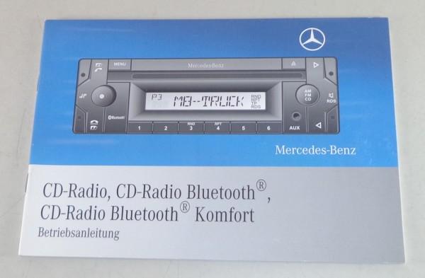 Betriebsanleitung Mercedes Benz CD Radio / Bluetooth / Bluetooth Komfort 3/2008