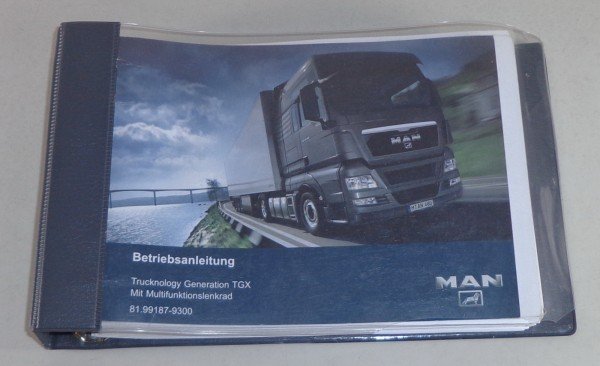 Betriebsanleitung MAN Trucknology TGX Stand 2009