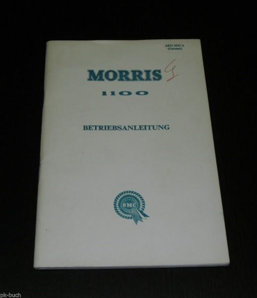Betriebsanleitung Handbuch Morris 1100 Mark I Typ ADO 16, Stand 02/1965