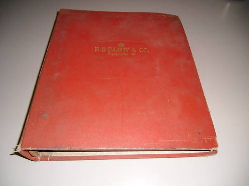 Austin Buick Opel Reservedele Part Cataloge Stand 1954