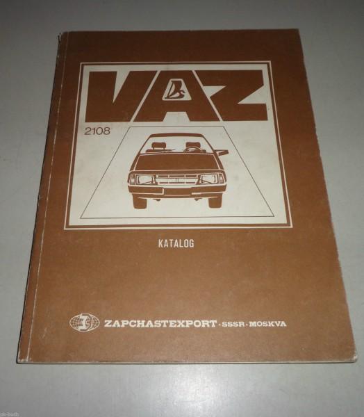Ersatzteilkatalog Lada Samara 1100 / 1300 / 1500 VAZ 2108 3-Türer Stand 1986