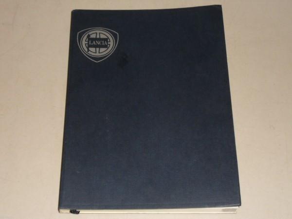 Betriebsanleitung Handbuch Bordbuch Lancia Beta Coupé, Stand 09/1978