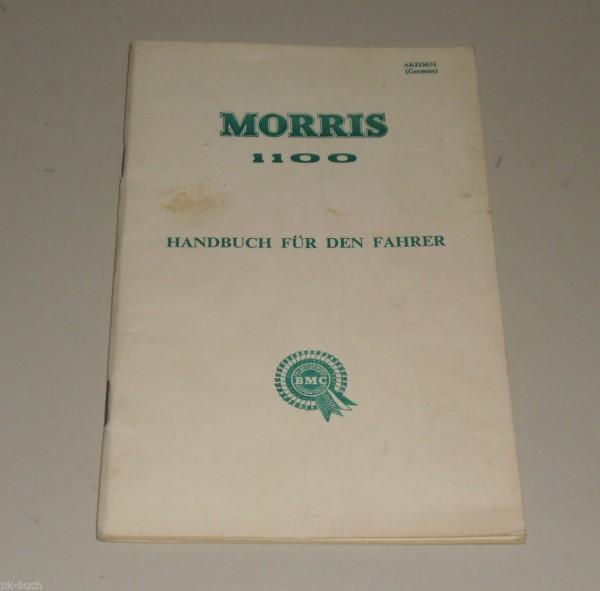 Betriebsanleitung Handbuch BMC Morris 1100, Stand 06/1962