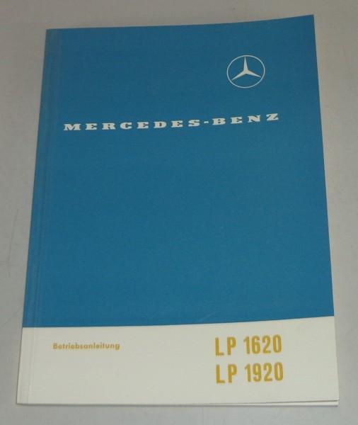Betriebsanleitung Mercedes Benz LP 1620 / LP 1920 Stand 03/1964