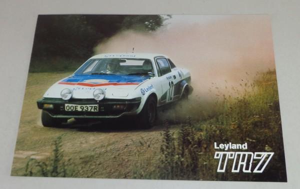 Prospekt Triumph TR7 Stand 04/1978