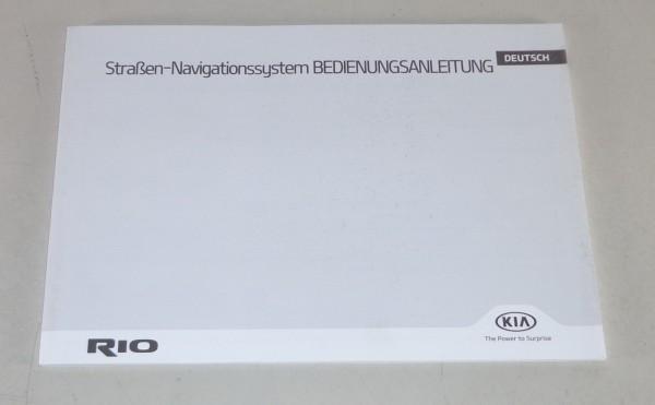 Betriebsanleitung / Handbuch Kia Rio Navigationssystem