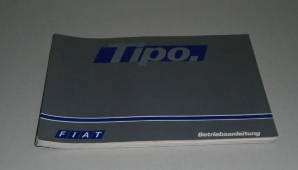 Betriebsanleitung / Handbuch Fiat Tipo, Stand Februar 1988