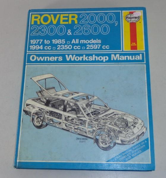 Reparaturanleitung Rover SD1 2000 / 2300 / 2600
