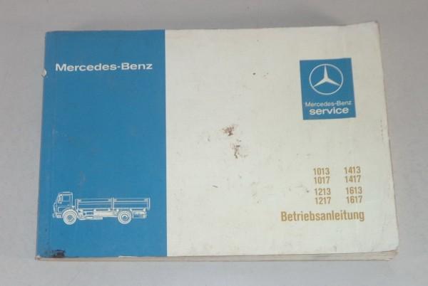 Betriebsanleitung Mercedes Benz NG 80 1013 / 1017 / 1213 / 1217 / 1413 / 1417