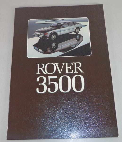 Prospekt Rover 3500 V8 SD1