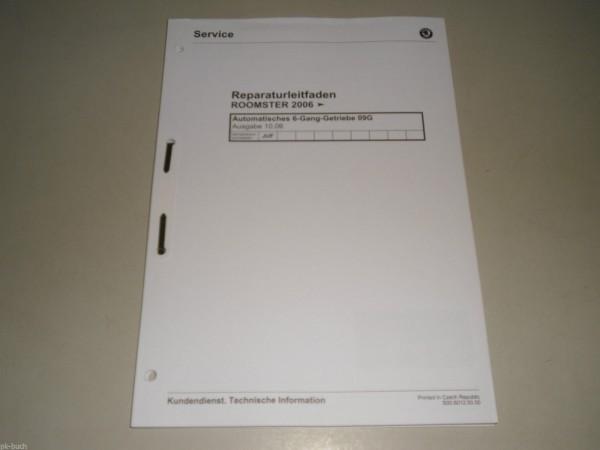 Werkstatthandbuch Skoda Roomster 6-Gang Automatikgetriebe 09G Getriebe JUF