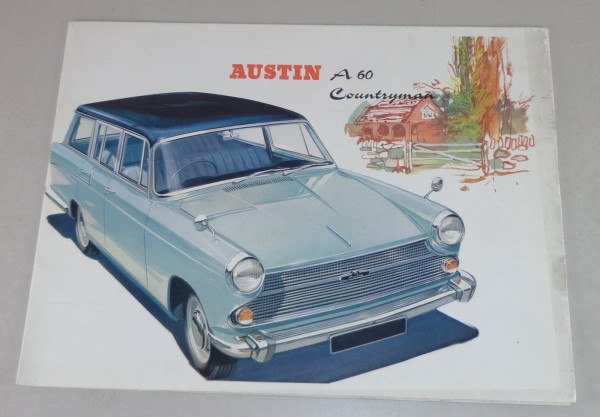 Prospekt Austin A60 Countryman