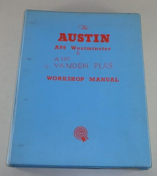 Werkstatthandbuch Austin A110 Westminster + Wolseley 6/110