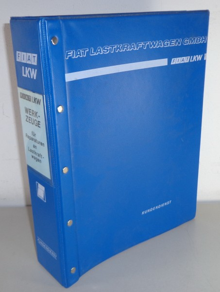 Teilekatalog Spezialwerkzeuge / Spezialwerkzeugkatalog Fiat LKW Stand 1975