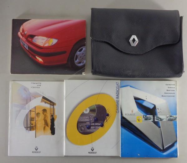 Bordmappe + Betriebsanleitung Renault Megane 1. Generation von 07/1996