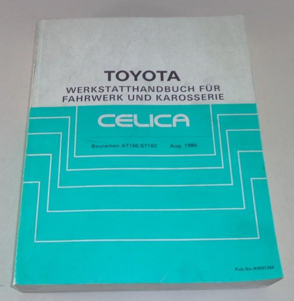 Werkstatthandbuch Toyota Celica Serien AT 160 / ST 162 Karosserie + Fahrwerk