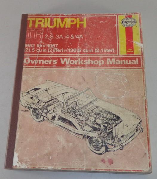 Reparaturanleitung Triumph TR 2 / 3 / 3A / 4 / 4A