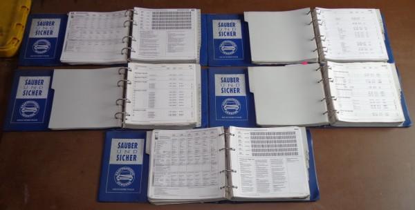 Werkstatthandbuch DAT Einstellwerte PKW Mercedes / Porsche / VW usw. von 1994