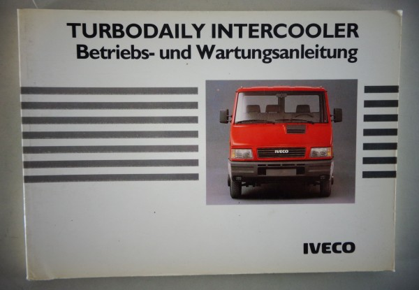 betriebsanleitung ownerss manual iveco turbodaily