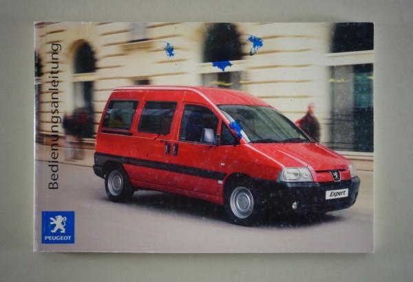 Betriebsanleitung / Handbuch Peugeot Expert Stand 01/2005