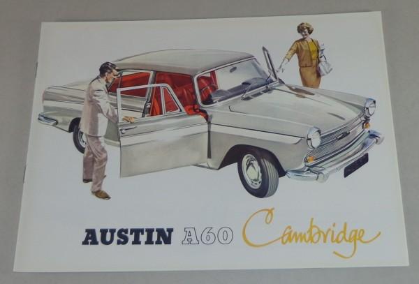 Prospekt Austin A60 Cambridge