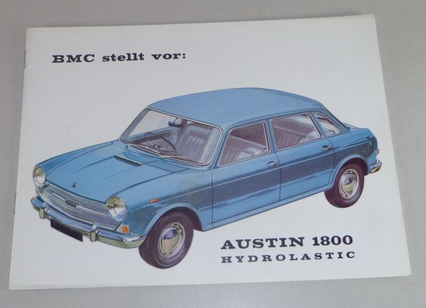 Prospekt BMC Austin 1800 Hydrolastic