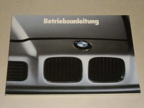 Betriebsanleitung Handbuch BMW 8er E 31 850 i, Stand 04/1990