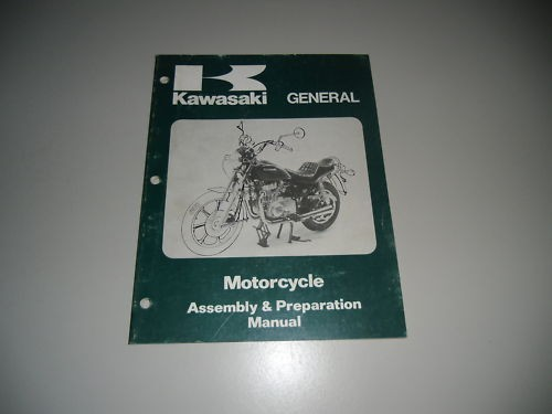 Assembly Preparation Manual Kawasaki General April 1983