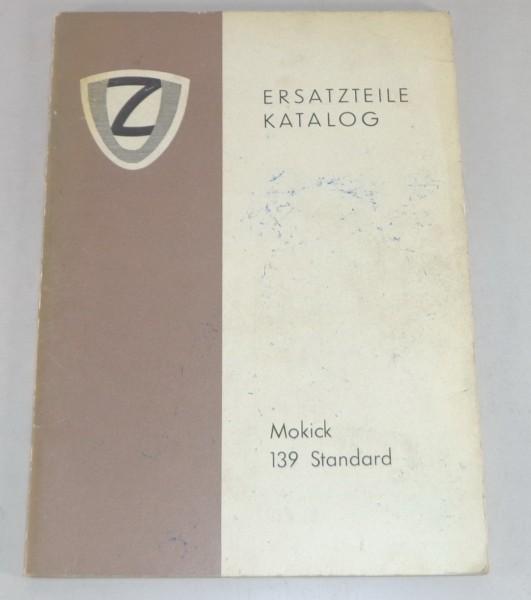 Teilekatalog / Ersatzteillise DKW Mokick 139 Standard