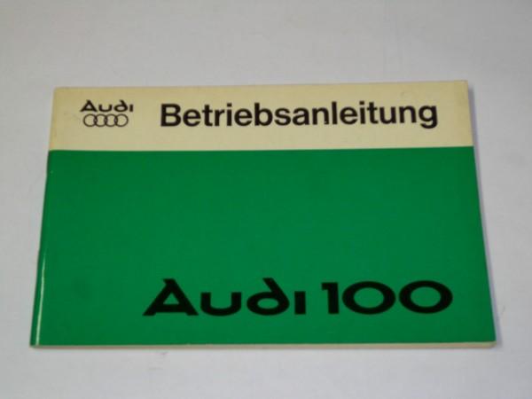 Betriebsanleitung / Handbuch Audi 100 C2 Typ 43, Stand 03/1977