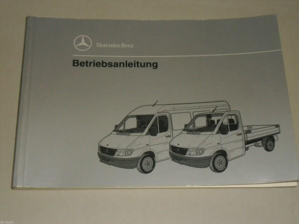 Betriebsanleitung Handbuch Mercedes Benz Transporter Sprinter T1N, Stand 11/1994