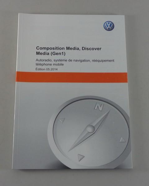 notice d 39 utilisation vw composition media discover media. Black Bedroom Furniture Sets. Home Design Ideas
