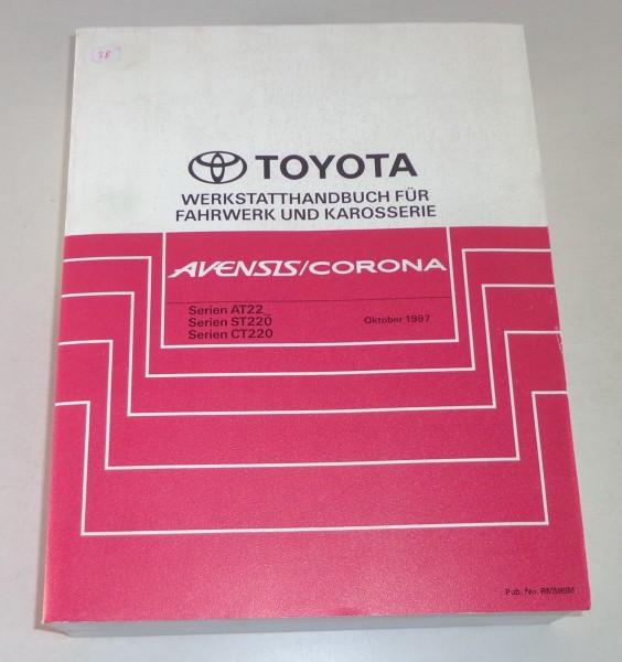 Werkstatthandbuch / Grundhandbuch Toyota Avensis / Corona Stand 10/1997