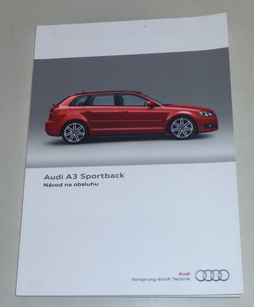 Navod na obsluhu Audi A3 8P Stand 11/2010