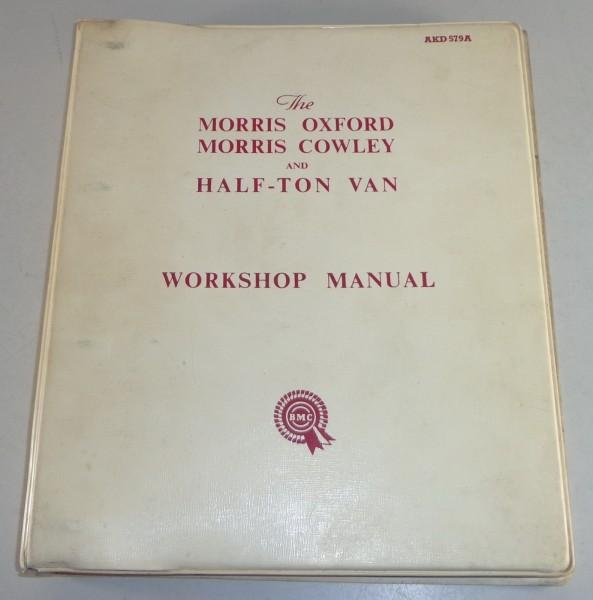 Werkstatthandbuch Morris Oxford + Cowley / 1500 + Half Ton Van von 02/1957