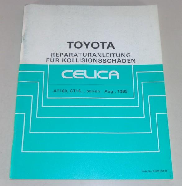 Werkstatthandbuch Toyota Celica Serien AT 160 / ST 16_ Stand 08/1985
