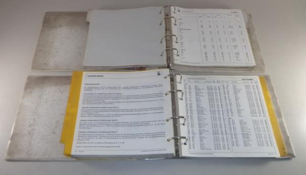 Werkstatthandbuch DAT Einstellwerte PKW Mercedes / Porsche / VW usw. von 1980