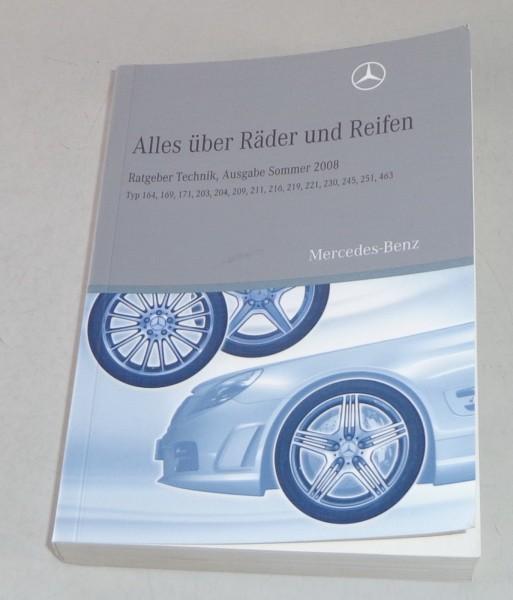 Handbuch Räder + Reifen Mercedes Benz 164 / 169 / 203 etc. Stand 2008