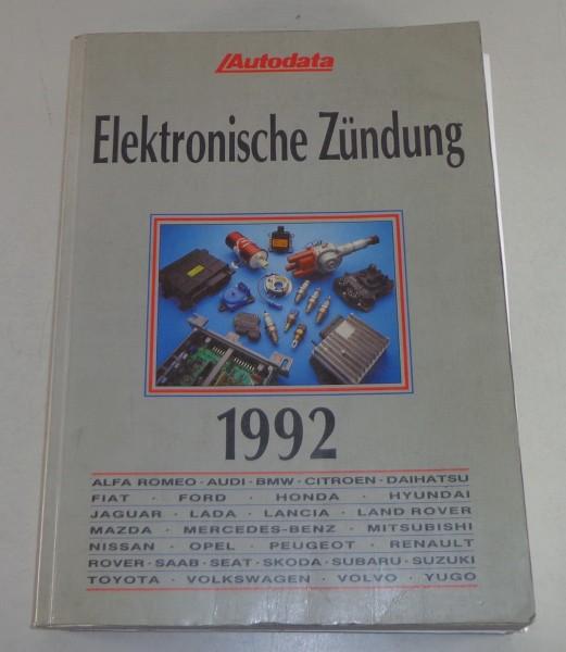 Handbuch elektronische Zündung für Audi / BMW / Volvo / VW etc. Stand 1992