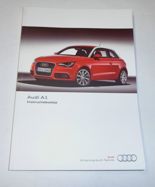 Betriebsanleitung / Instructieboekje / Handleiding Audi A1 / A 1, Stand 11/2010