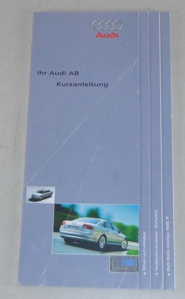 Betriebsanleitung / Kurzanleitung Audi A8 D3 Stand 11/2003