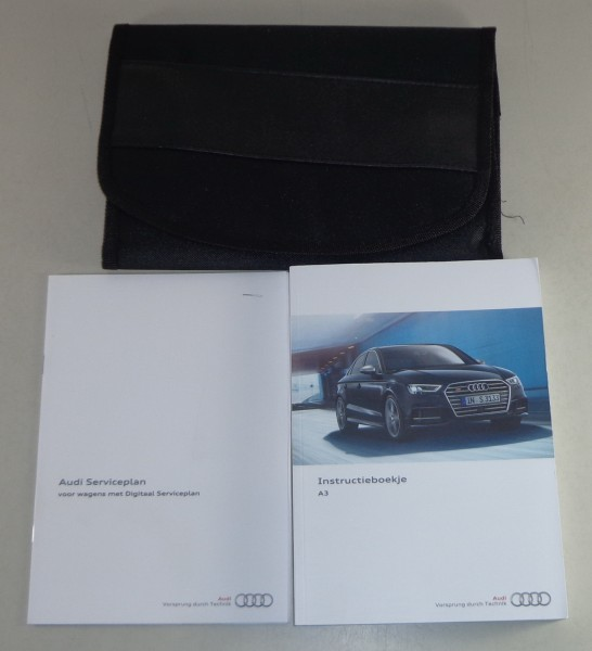 Instructieboekje + wallet Audi A3 8V Stand 2016