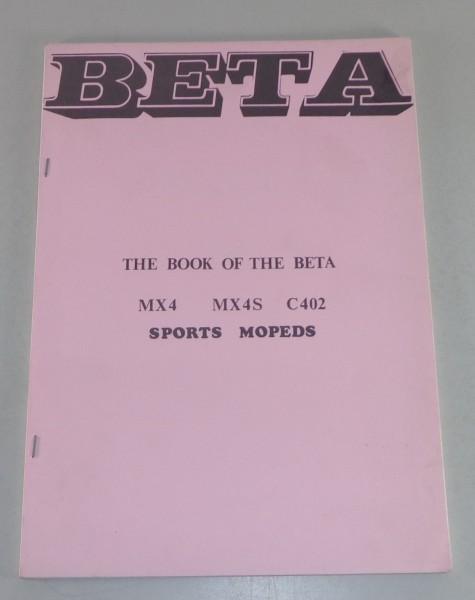 Werkstatthandbuch / Workshop Manual Beta MX4 / MX4S / C402 Sport