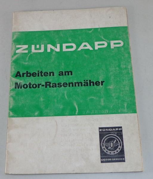 Werkstatthandbuch Zündapp Arbeiten am Rasenmähermotor Typ 220 Stand 03/1971