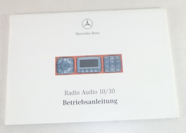 Betriebsanleitung Mercedes Benz Radio Audio 10 / 30 in S-Klasse W220